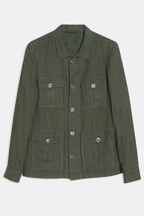 Safari Shirt Jacket