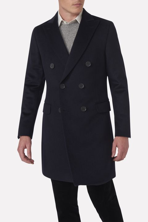 Sebastian double breasted coat