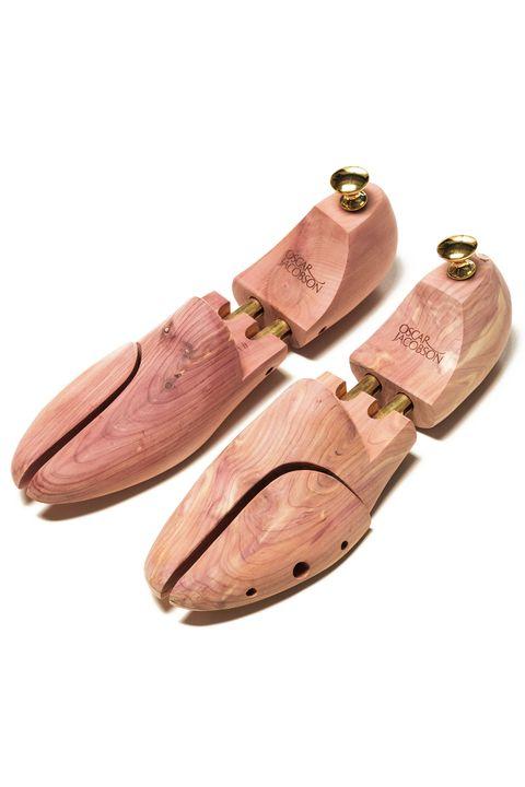 Cedar wood shoe tree