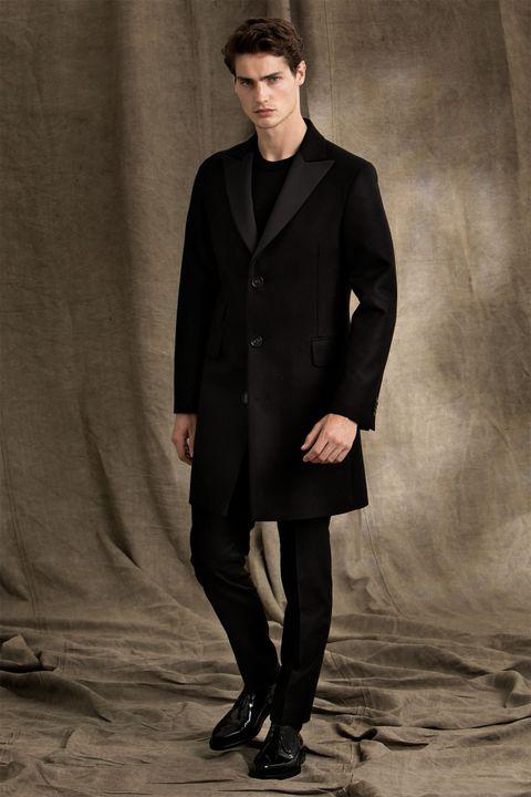 State tuxedo coat