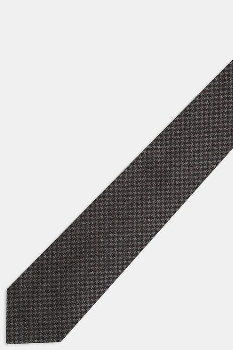 Wool & silk tie