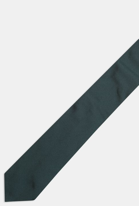 Single colour Silk tie