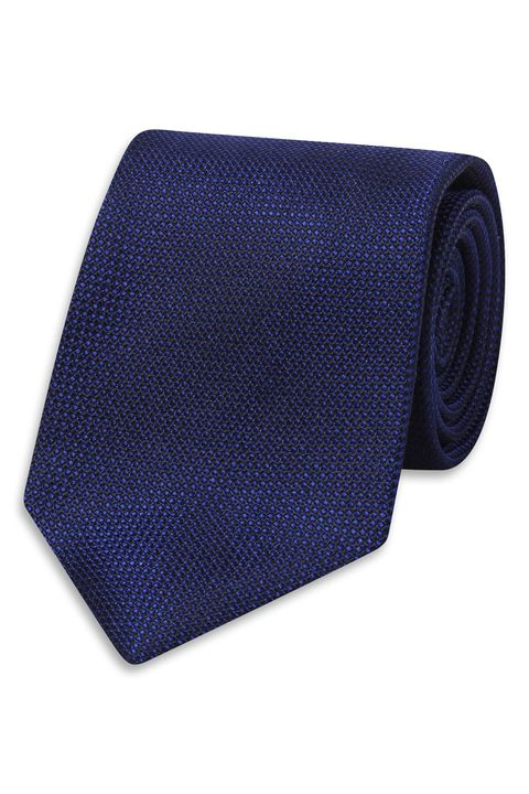 Silk tie with texture