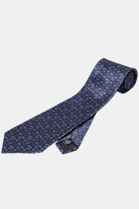 Pattern silk tie