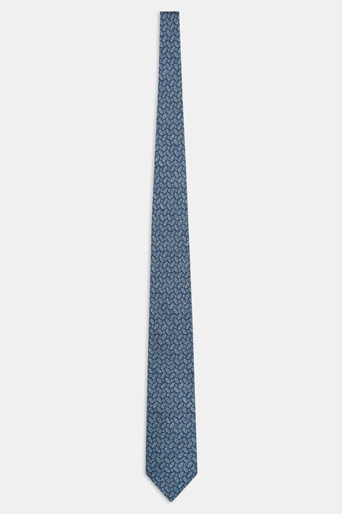 Micro patterned linen tie