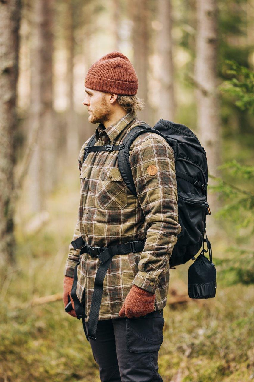 Pinewood Checked Padded Overshirt 5008