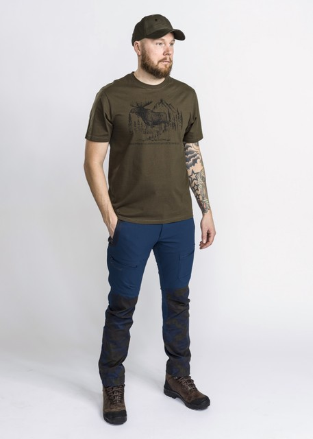 T-SHIRT PINEWOOD® MOOSE 5571