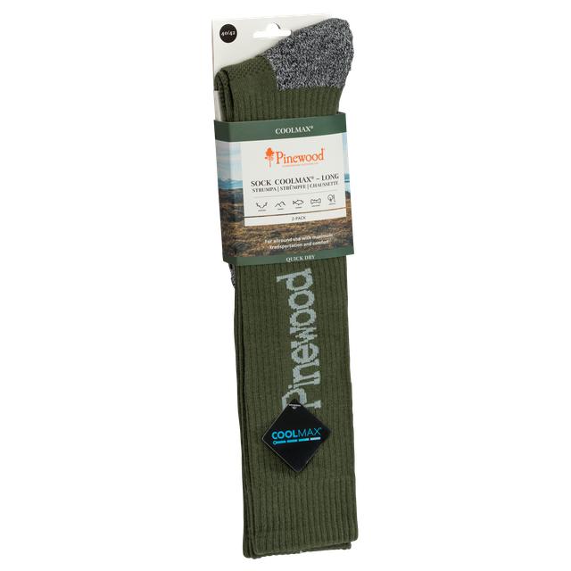 Strumpa Pinewood® Coolmax® High (2-pack) 9211