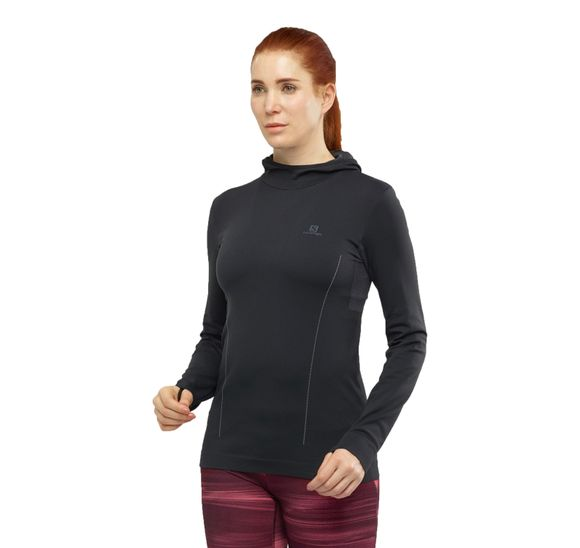ESSENTIAL SEAMLESS HOODED