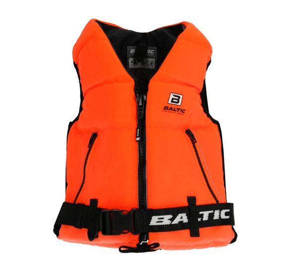 Super Soft II Orange Life Jacket