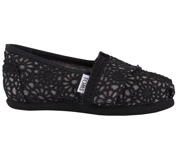 Black Crochet Tn Clsc