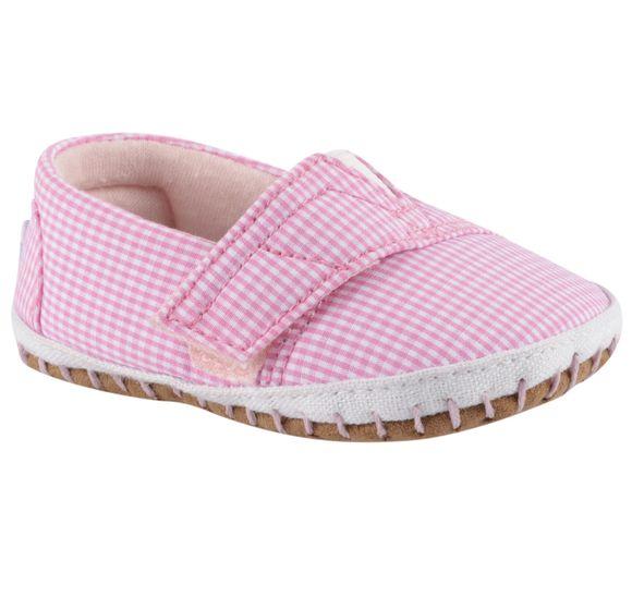 Pink Gingham Tn Crib