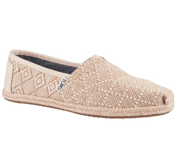 Natural Woven Rope Sole Wm
