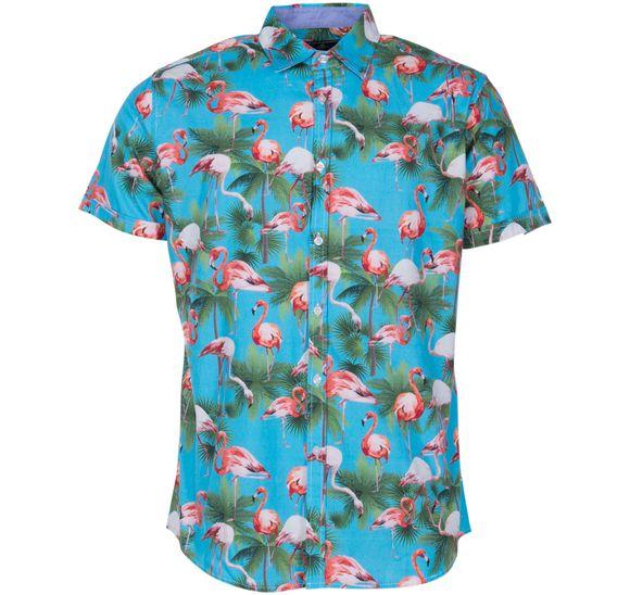 Hawaii Flamingo Shirt S/S