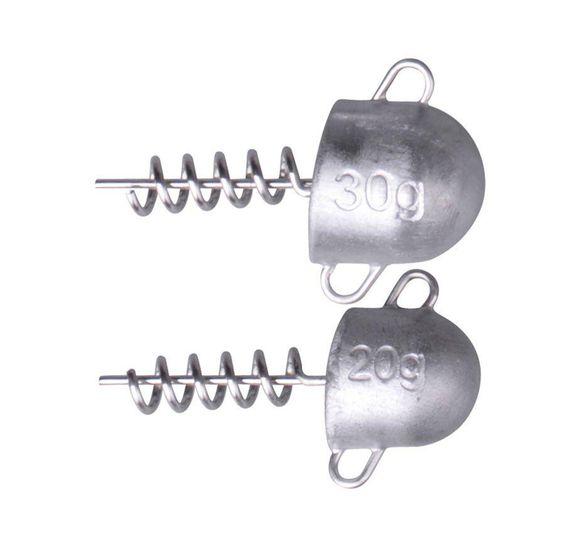 SG Cork Screw Heads 30g 2pcs