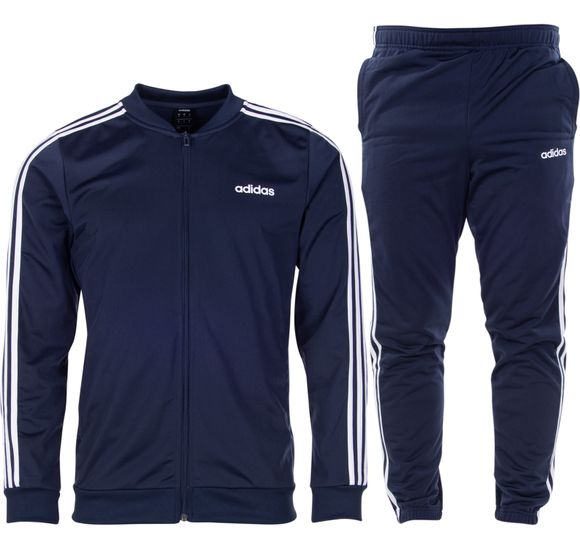 Track suit Back 2 Basic 3-Stripes - blå