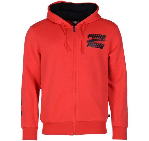 Rebel Bold Hooded Jacket Fl