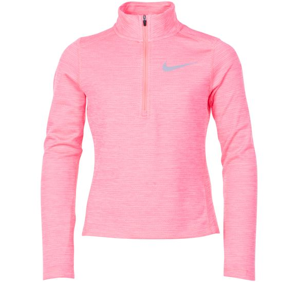 Nike Girls' Long-Sleeve Half-Z