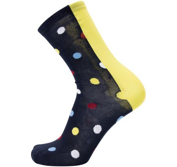 Ankle Sock, Bb Contrast Dot, 1