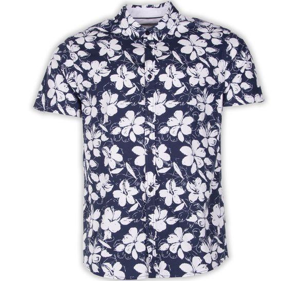 Shirt - Bill SS BD Flower