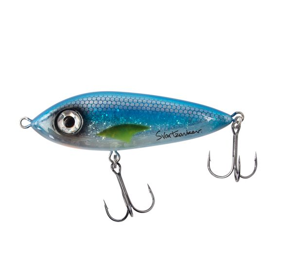 McSnack 9cm Blue Silver