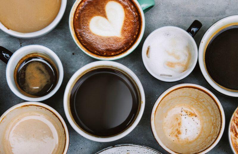Koffein i kafe