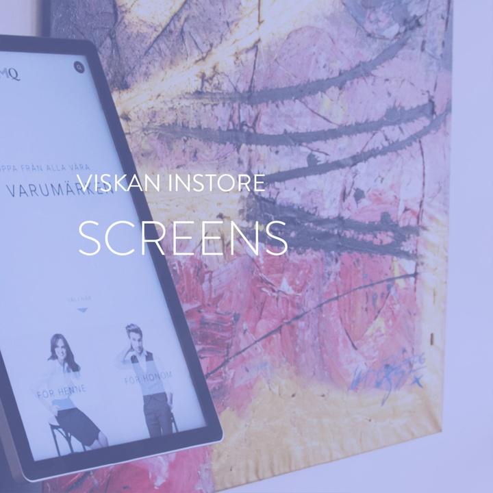 Instore Screens