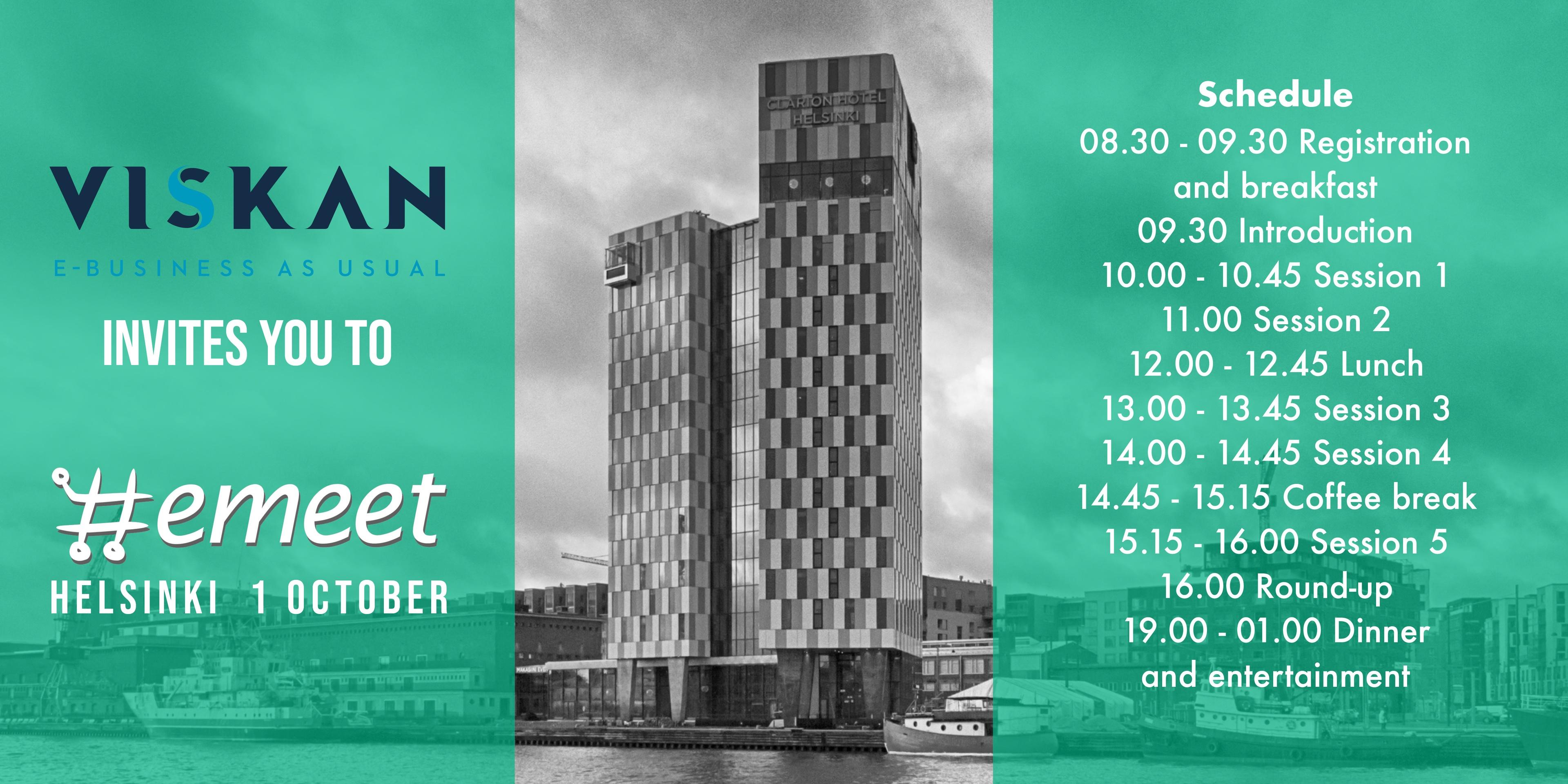 Viskan @ Emeet Helsinki 2019