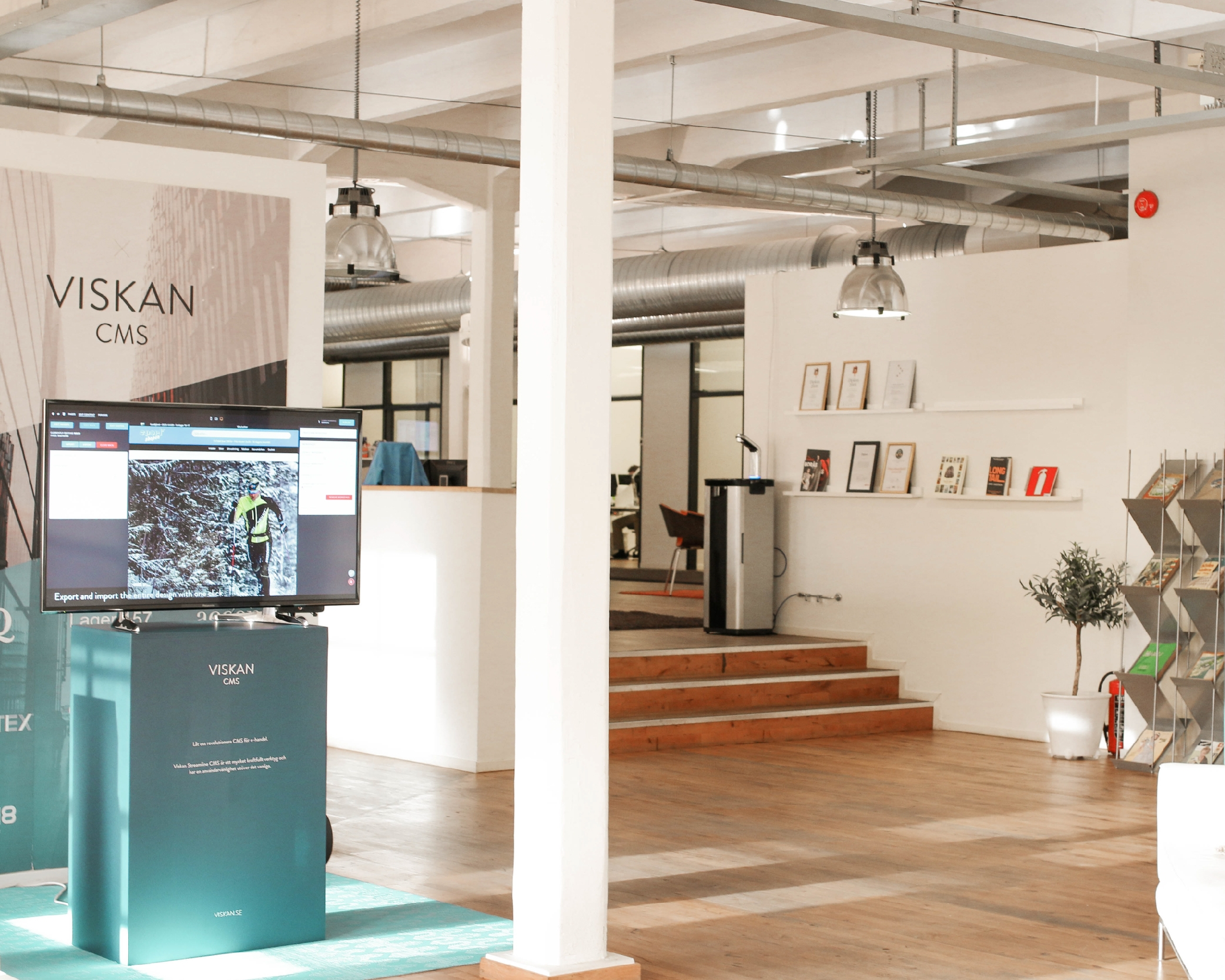 Viskanin toimisto Boråsissa