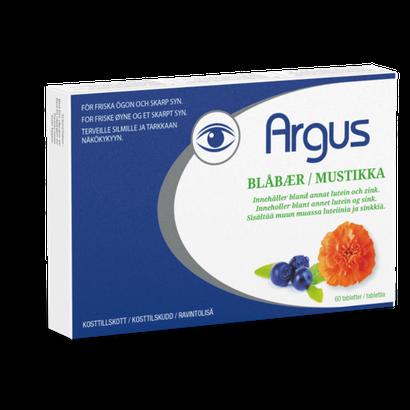 Argus Blåbær