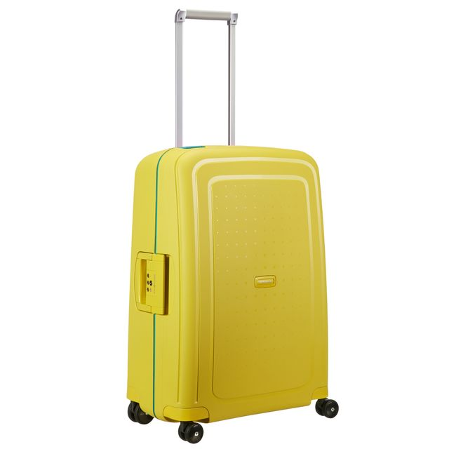 Samsonite S'Cure hard koffert, 4 hjul, 69 cm