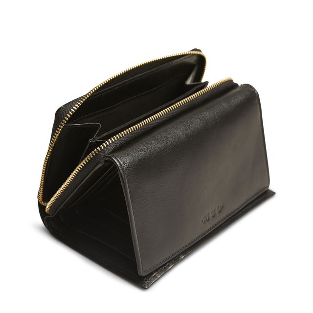 MCO Ninni stor lommebok i skinn