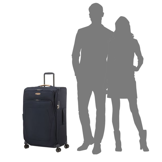 Samsonite Spark SNG ECO ekspanderbar koffert, 4 hjul, 79 cm
