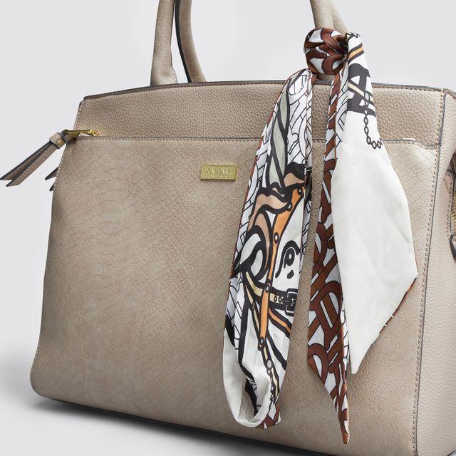 Heather Scarf Bag Charm