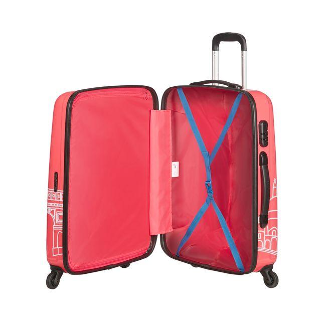 American Tourister Disney Minni Mus Paris koffert, 65 cm