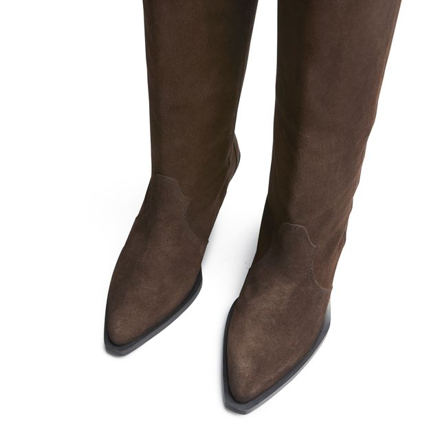 Rizzo Maia Highboot støvler i mokka, dame