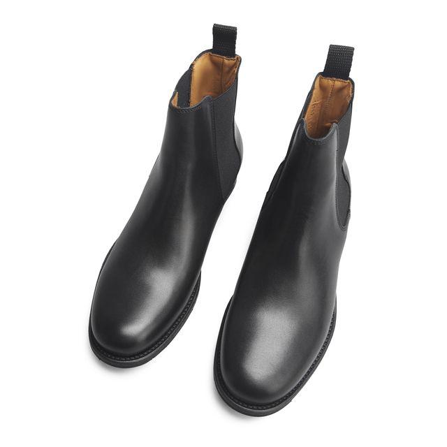 Rizzo Arabella chelsea boots i skinn, dame