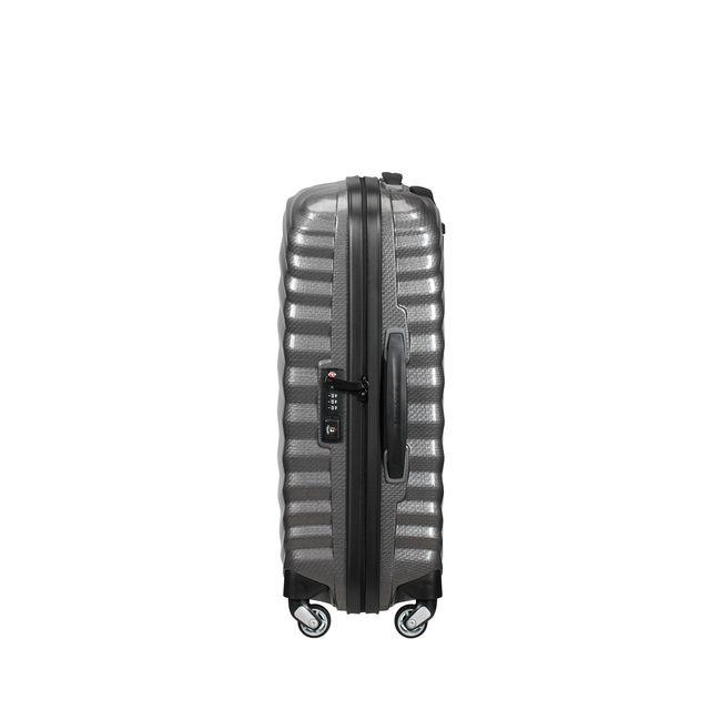 Samsonite Lite-Shock hard koffert, 4 hjul, 55 cm