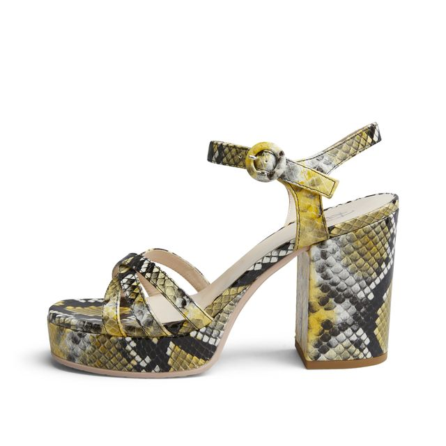Rizzo Kia sandaletter i skinn, dame