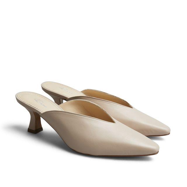 Rizzo Ana slip-in sandaler i skinn, dame