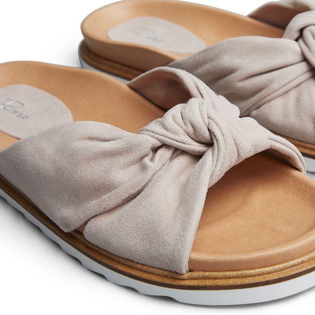 Rizzo Zelia slip-in sandaler i mokka, dame
