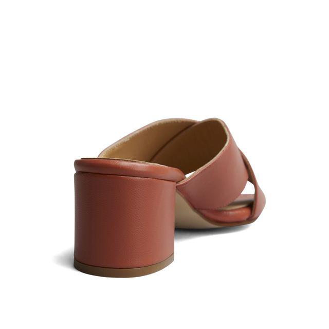 Rizzo Clara slip-in sandaler i skinn, dame
