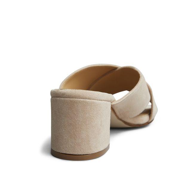 Rizzo Clara slip-in sandaler i mokka, dame