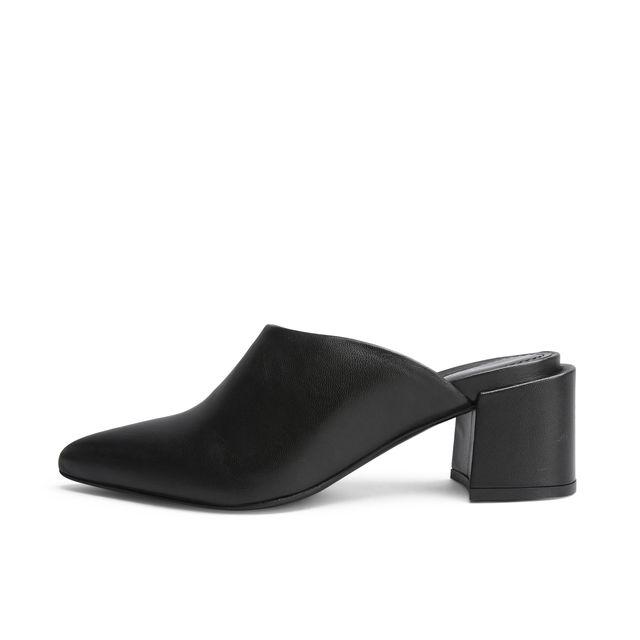 Rizzo Adela slip-in sandaler i skinn, dame