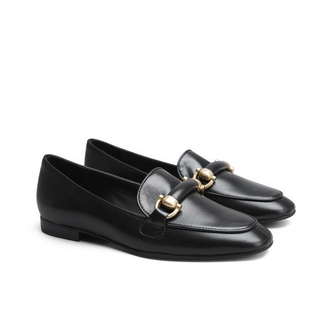 Rizzo Angie loafers i skinn, dame