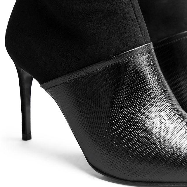 Rizzo Gemma støvler i skinn og mokka, dame