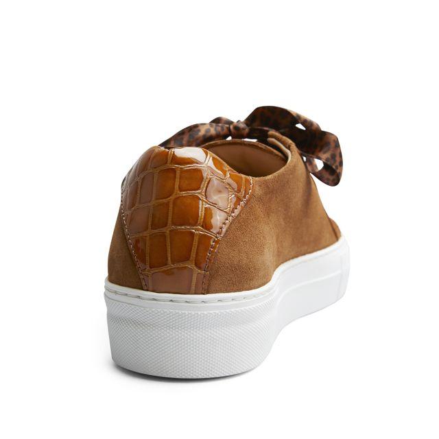 Rizzo Mia sneakers i mokka, dame