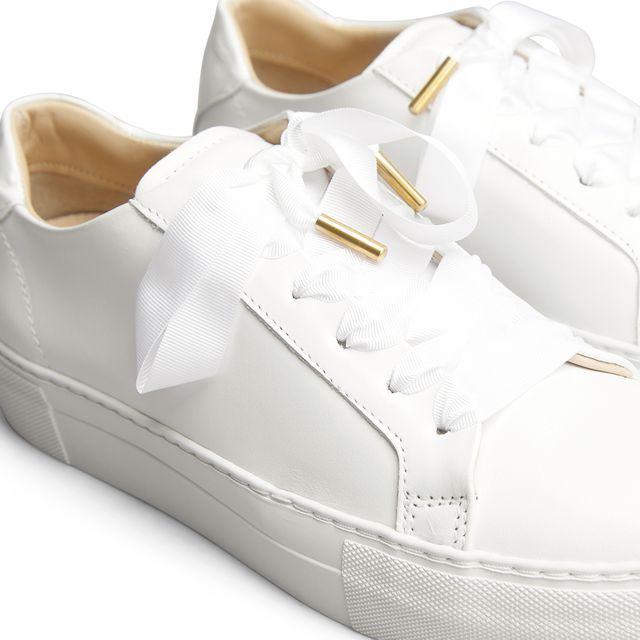 Rizzo Mia sneakers i skinn, dame
