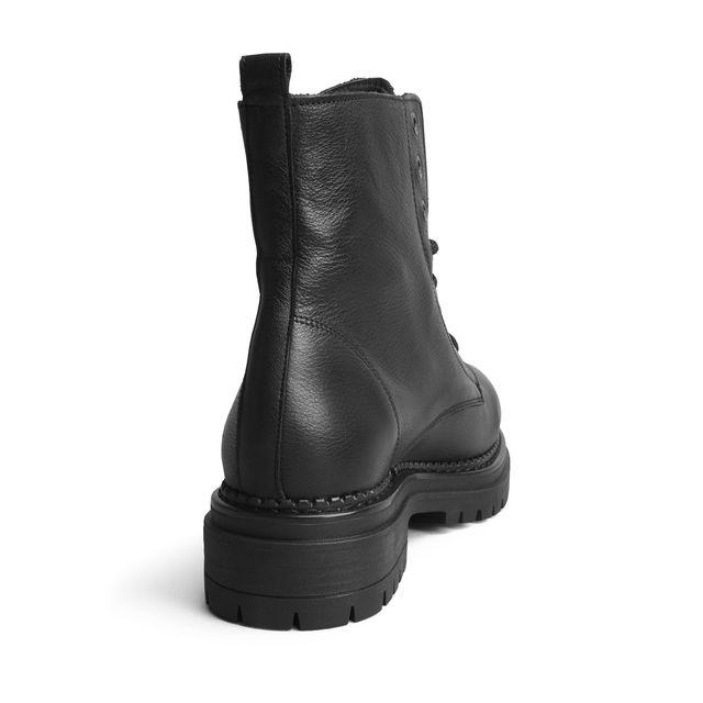 Rizzo Amelie Chunky støvler i skinn, dame