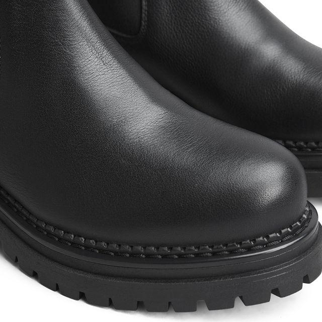 Rizzo Ami Chunky boots i skinn, dame